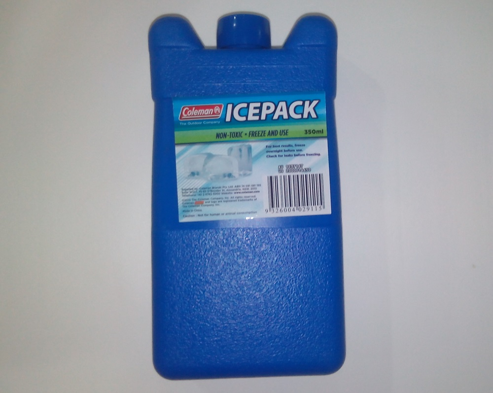 Coleman Icepack Hard Ice Substitute - 350ml