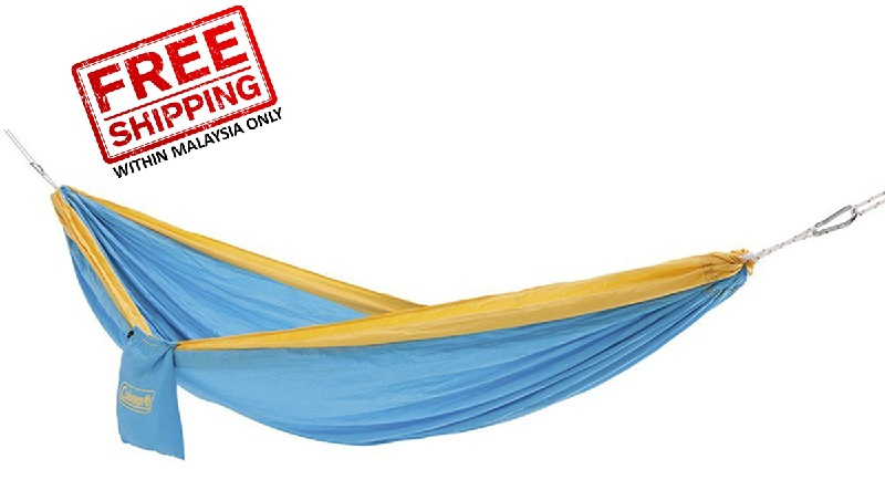 coleman parachute hammock  sky  la siesta fixing set for hammocks   tree rope   rm140 00   eco      rh   eco sports   my