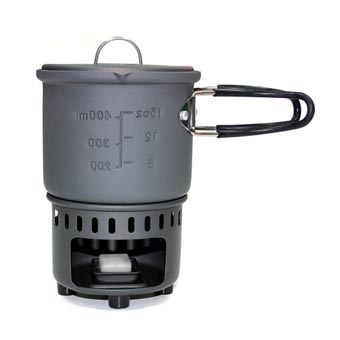 Esbit Solid Fuel Cookset/Stove