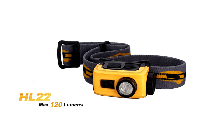 Fenix HL22 Headlamp - 120 lumens