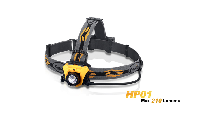 Fenix HP01 Headlamp - 210 lumens