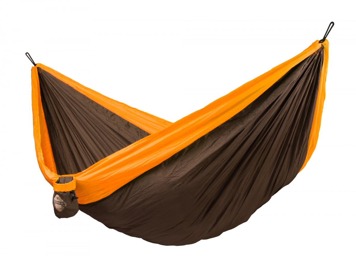 La Siesta Double Travel Hammock - Colibri Orange