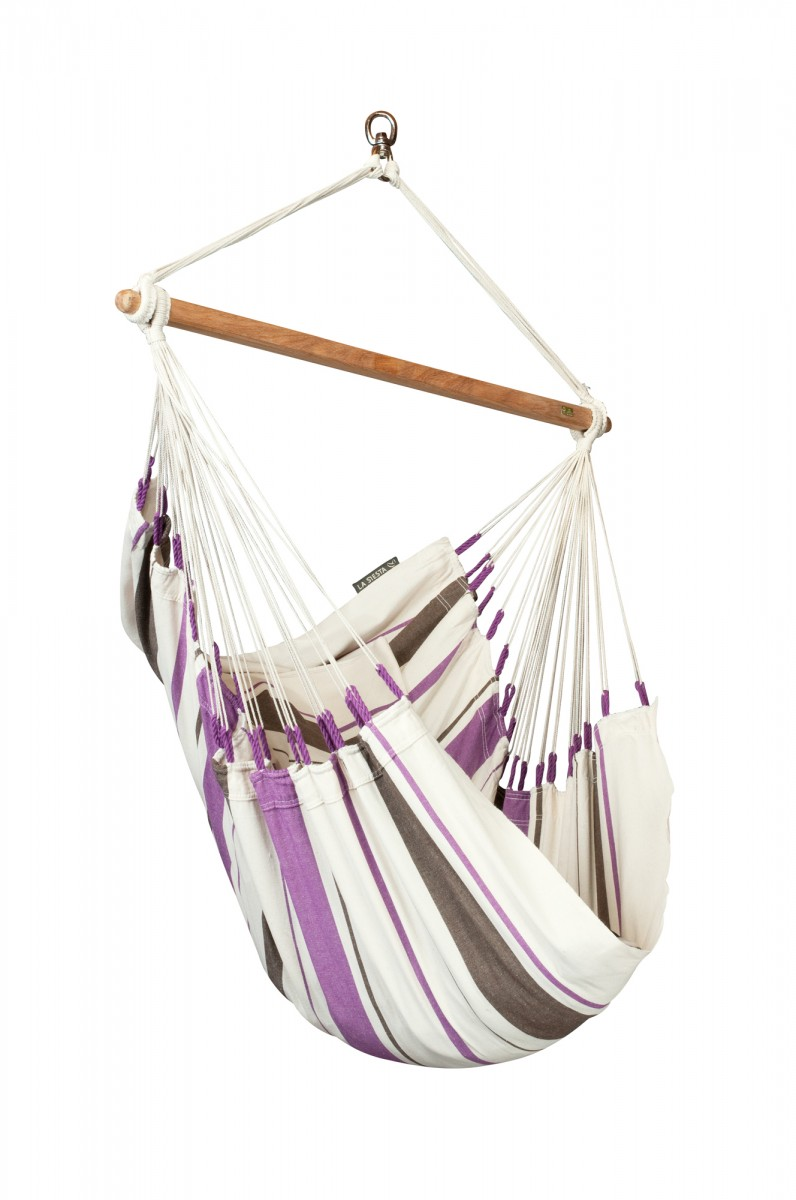 La Siesta Hammock Chair Basic - Caribena Purple
