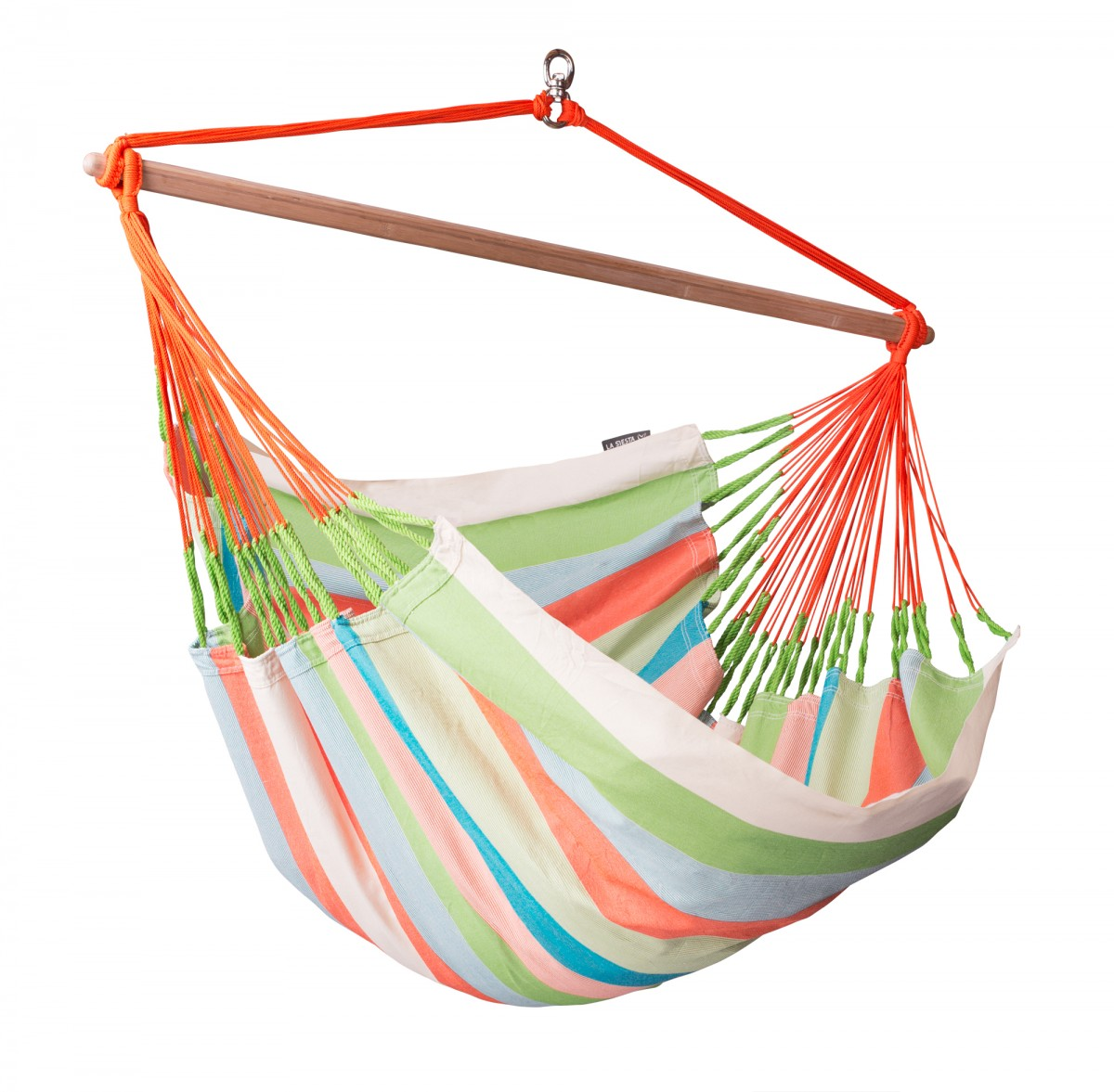 La Siesta Hammock Chair Lounger - Domingo Coral