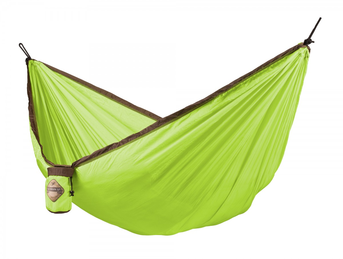 La Siesta Single Travel Hammock - Colibri Green