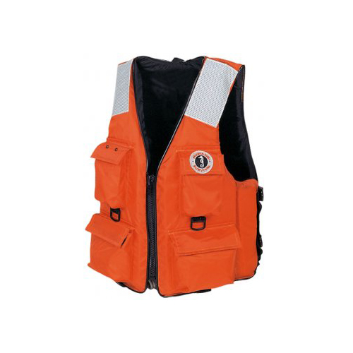 MUSTANG SURVIVAL Four-Pocket Flotation Life Jacket