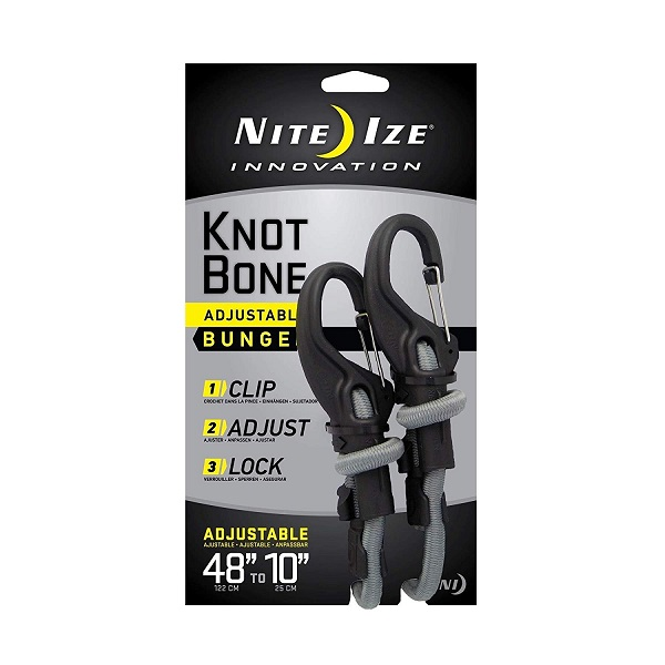 Nite Ize 9mm Cord KnotBone Adjustable Bungee - 48in