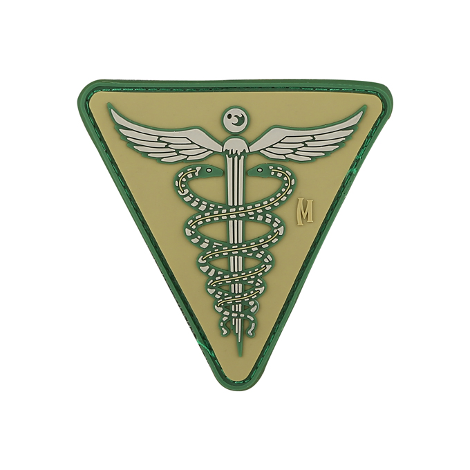 "CADUCEUS PATCH (2.6"" x 2.6"")"