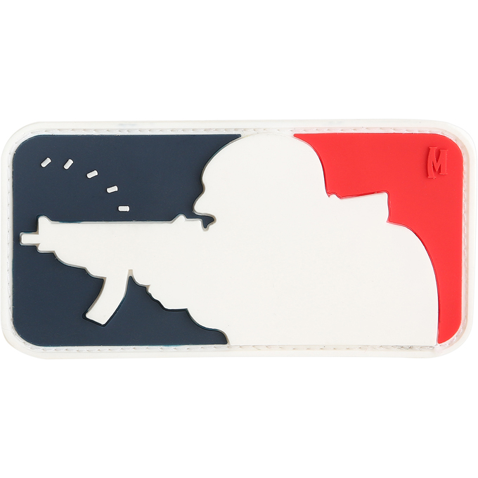 "MAJOR LEAGUE SHOOTER PATCH (3"" x 1.6"")"