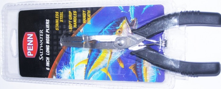 Penn Saltwater 6in Long Nose Pliers