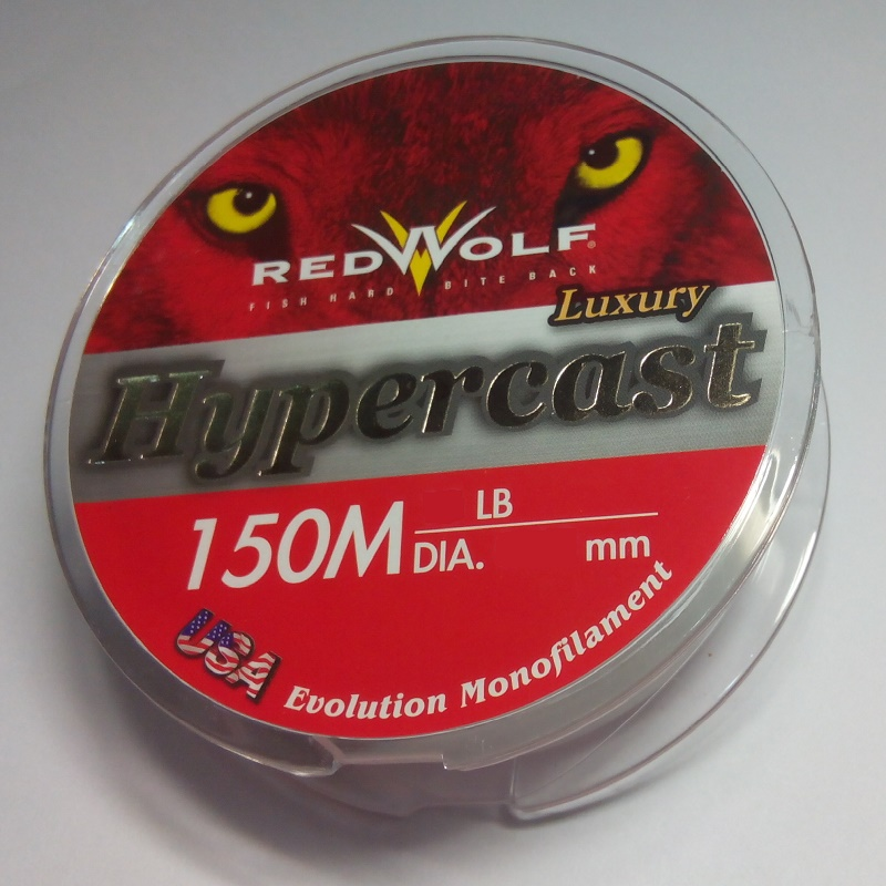 Red Wolf Hypercast Monofilament 150m 25lb Dia. 0.28mm