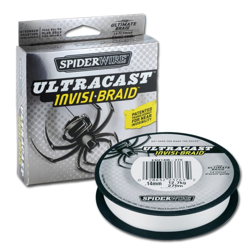 Spiderwire Ultracast Invisi-Braid 20lb 125yd