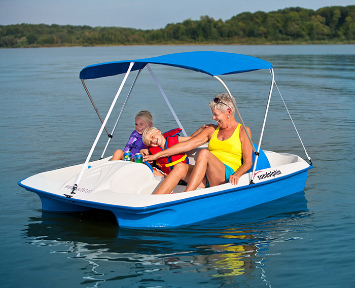 Sun Slider Pedal Boat w/Canopy