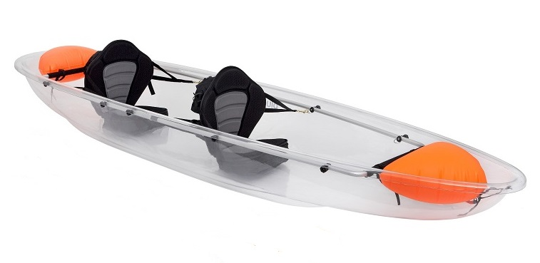 Transparent Kayak - Click Image to Close