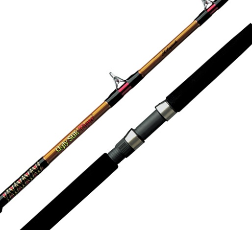 "Shakespeare Ugly Stik Tiger Cast Rod 6'6"" 25-60lb"